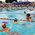 Festival Guaruzão de natação atrai cerca de 570 crianças