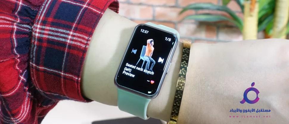 تعرف علي ساعة HUAWEI WATCH FIT , مواصفات , مميزات , اسعار , تصميم