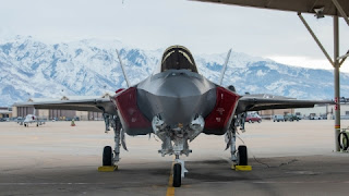 F-35A Lightning II Performance Team and 388th Fighter Wing with Utah Overpass at Salute Utah