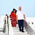 Bagaimana isteri ketua kerajaan dunia berjalan