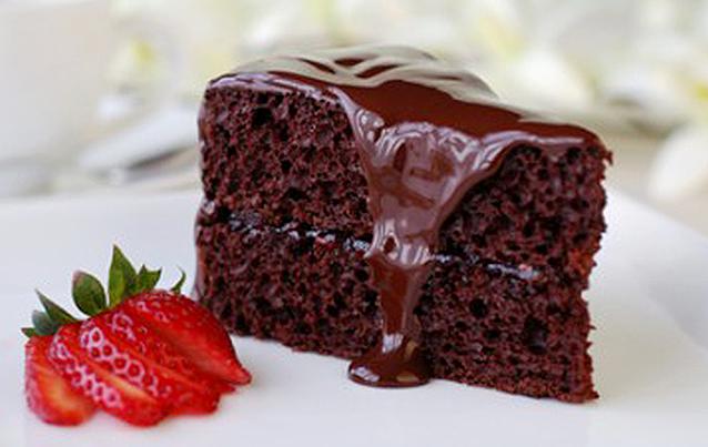 receita bolo de chocolate cremoso
