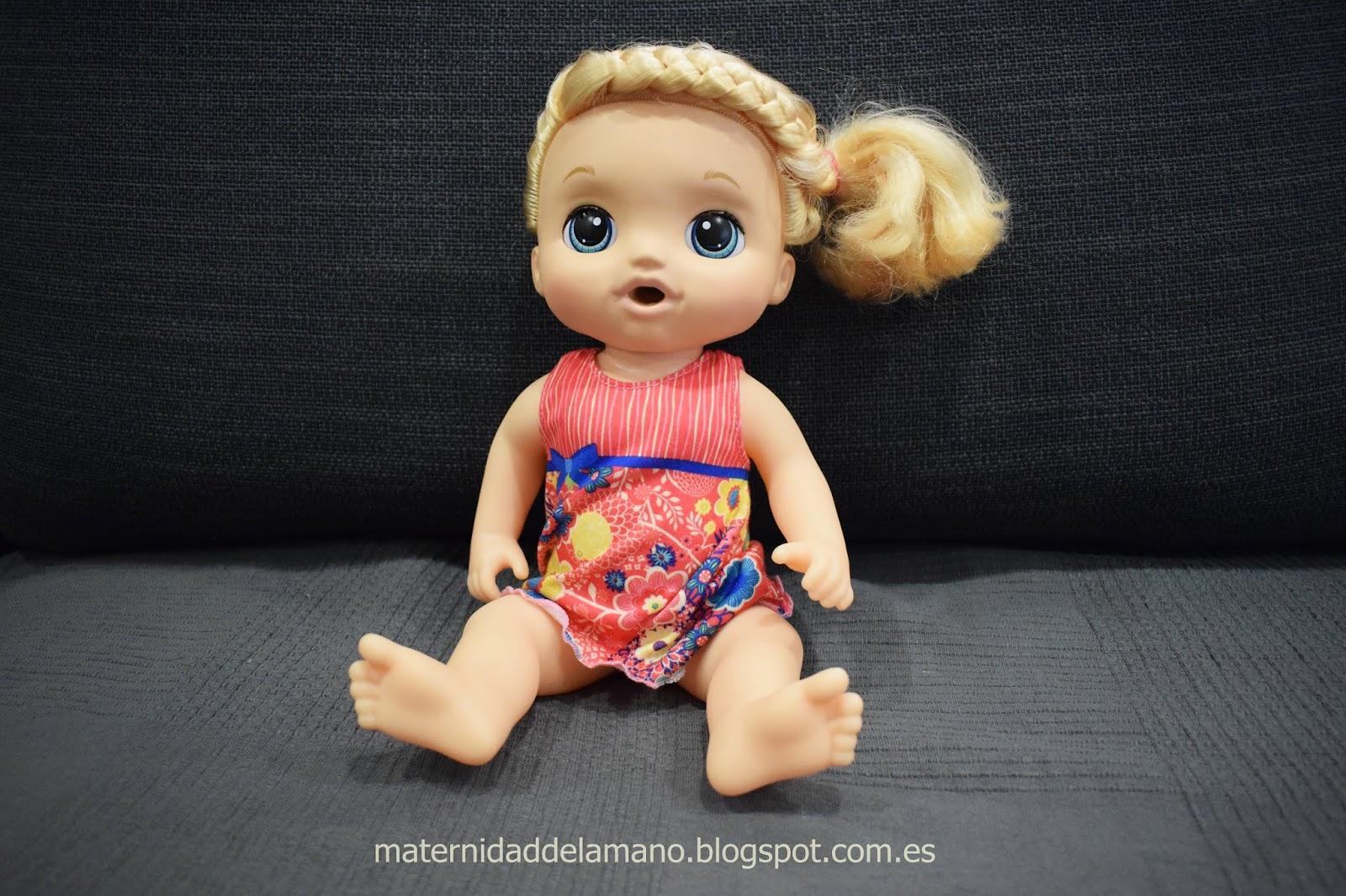fd184ba9f0 Maternidad de la mano  Muñeca Baby Alive mimos y cuidados