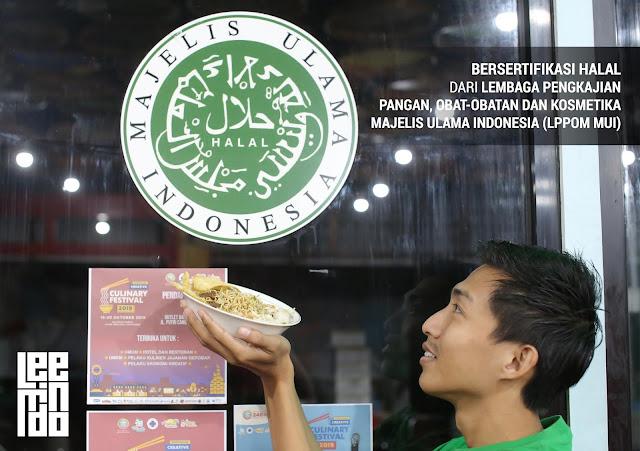 Bakmie Kepiting Halal Pontianak, Kuliner Halal