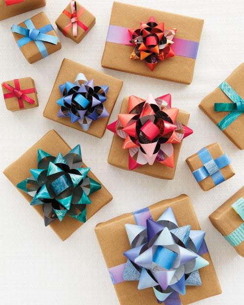 moños-reciclando-revistas-regalos-diy
