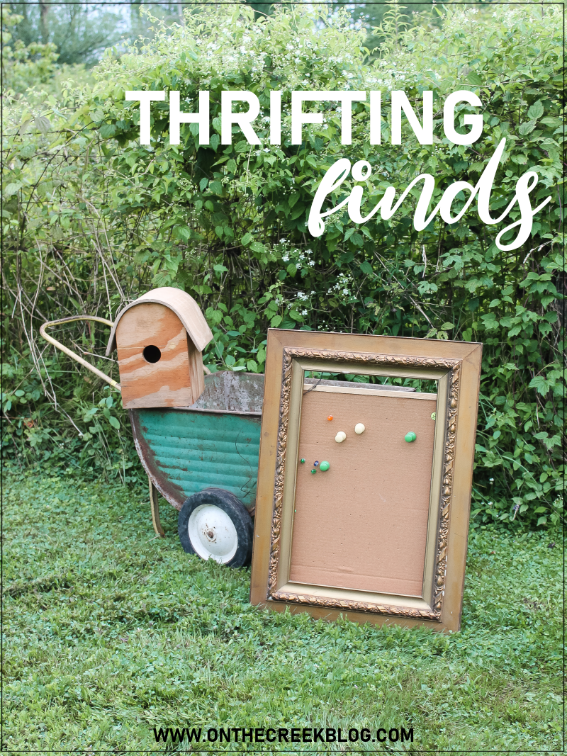 Thrifting Finds! | On The Creek Blog