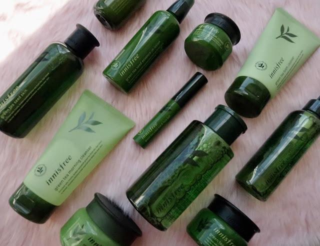 Innisfree Green Tea Seed Eye Cream review
