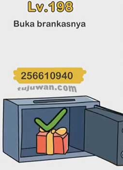 Jawaban Buka Brankasnya Brain Out Level 198