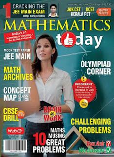 Mathematics Today June 2018