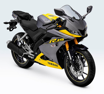 All New R15 Racing Yellow