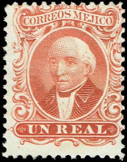 Mexico 1864  Miguel Hidalgo y Costilla 14A