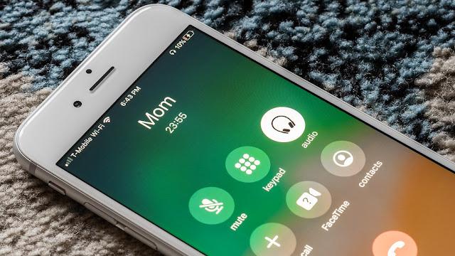 ينطق اسم المتصل عند المكالمات