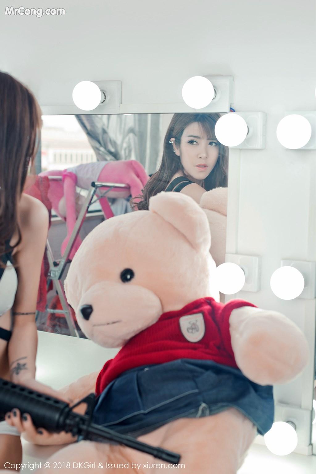 Image DKGirl-Vol.065-Cai-Le-Er-MrCong.com-004 in post DKGirl Vol.065: Người mẫu Cai Le Er (蔡乐儿) (50 ảnh)