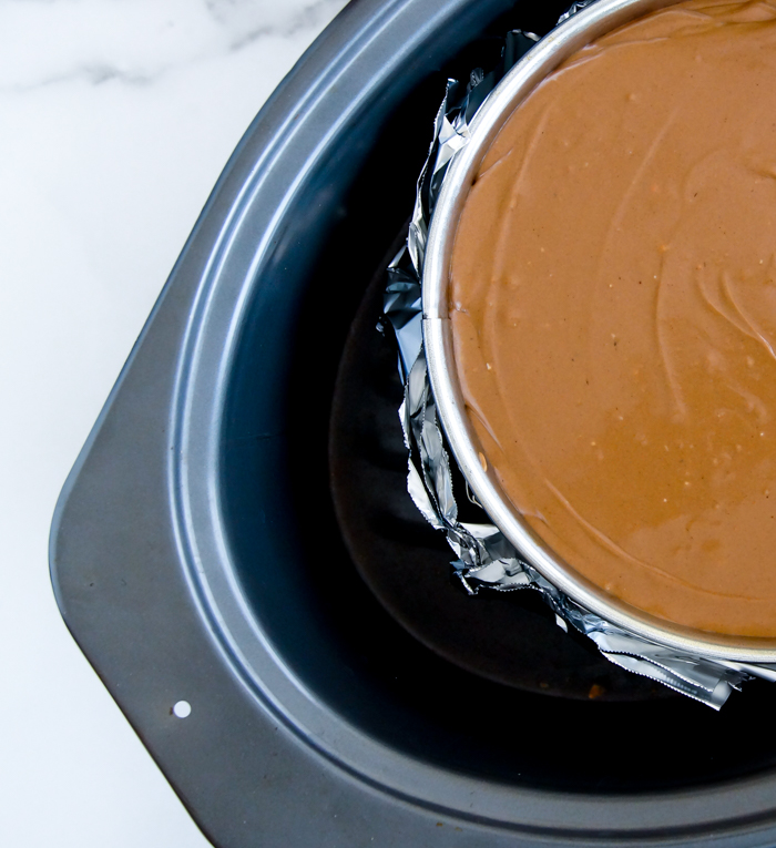why use a bain-marie for cheesecake