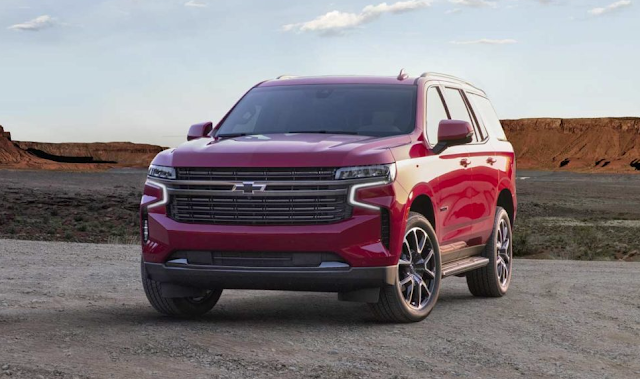 2021 Chevrolet Tahoe & Suburban debut with extra space & tech