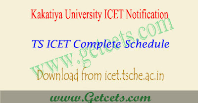 Telangana ICET application 2018-2019
