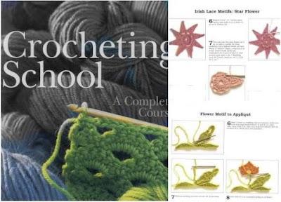 Escuela de Crochet. Revista Tutoriales