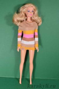 Трикотажный джемпер для Барби