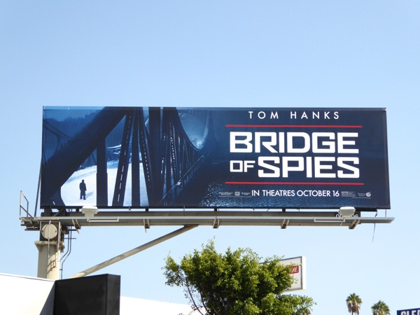 Bridge of Spies film billboard