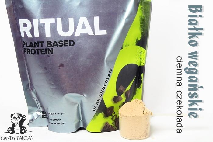 Białko wegańskie Ritual Vivo Life o smaku ciemnej czekolady – Siła Roślin