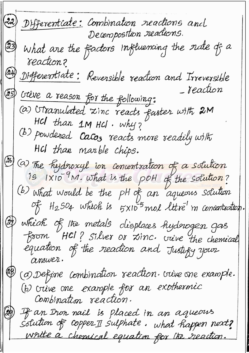 10th Class Notes for All Subjects in PDF for FREE [Updated ...