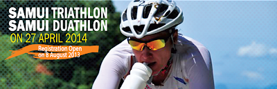 Samui triathlon and Duathlon 2014