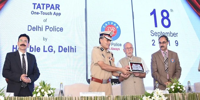 TATPAR APP by DELHI POLICE DOWNLOAD HERE