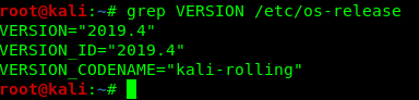 KaliLinux 2019.4