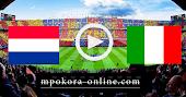 نتيجة مباراة ايطاليا وهولندا بث مباشر كورة اون لاين 14-10-2020 دوري الأمم الأوروبية