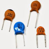 Condensadores cerámicos o de mica de varios valores
