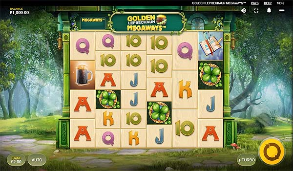 Main Gratis Slot Indonesia - Golden Leprechaun Megaways (Red Tiger Gaming)