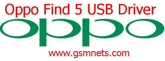 Oppo Find 5 USB Driver Download