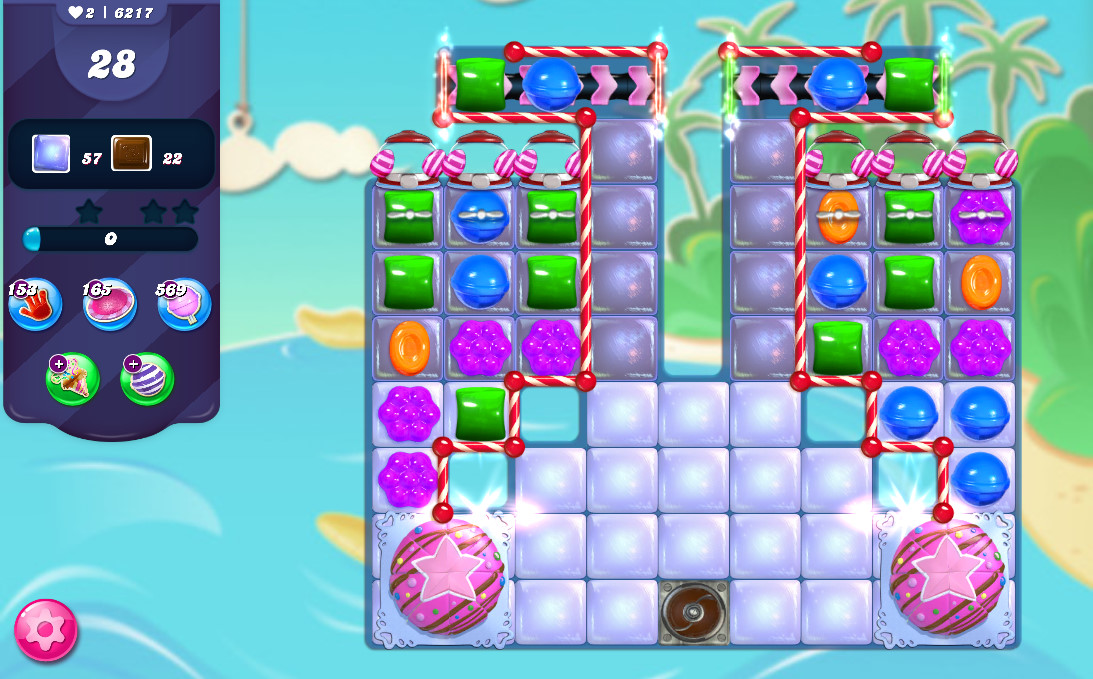 Candy Crush Saga level 6217