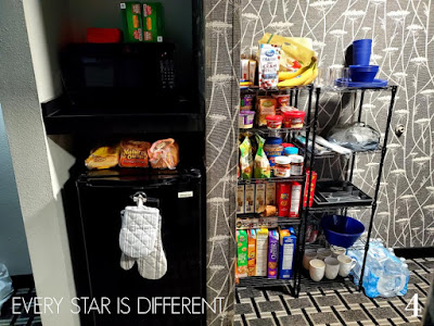 Hotel Living: Food Storage and Food Prep