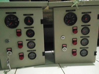 melayani service dan pembuatan panel engine pump