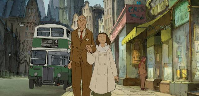 Imagen de la película de animación El Ilusionista de Sylvain Chomet