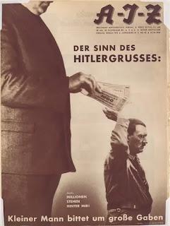 Der Sinn Des Hitlergrusses Kleiner Mann bittet um grosse Gaben