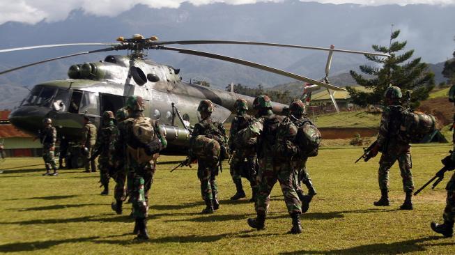Kabar Duka! Terjadi Kontak Senjata di Intan Jaya, Satu Orang Prajurit TNI Gugur