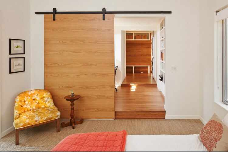 Functional%2B%2526%2BStylish%2BSliding%2BRolling%2BDividers%2BWood%2BDoors%2B%25284%2529 30 Practical & Fashionable Sliding Rolling Dividers Wooden Doorways Interior