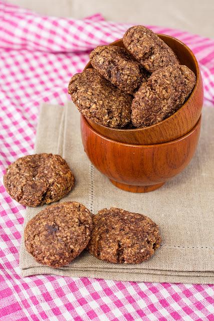 Posni keks sa ovsenim pahuljicama i kokosom