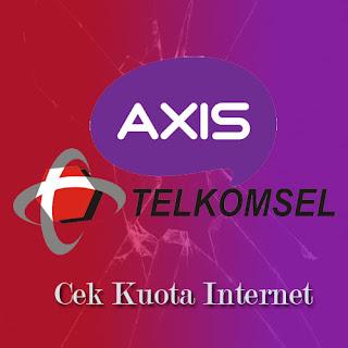 Cara Mudah Cek Kuota Internet Telkomsel dan Axis