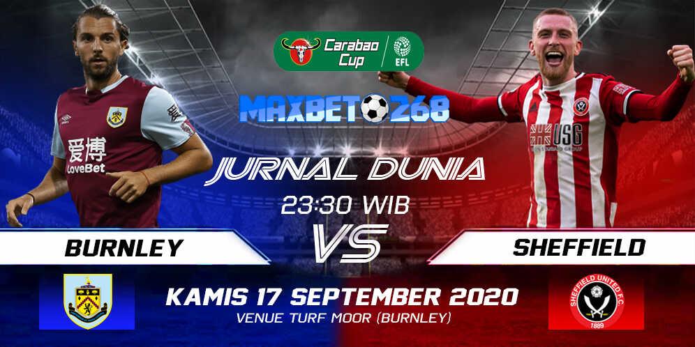 Prediksi Burnley vs Sheffield United 17 September 2020 Pukul 23:30 WIB