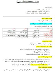 ملخص شامل الفصل الثاني علوم