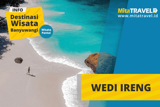 Info Lengkap Wisata Pantai Wedi Ireng Banyuwangi di MitaTRAVEL