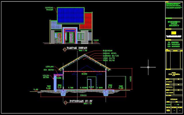 Gambar Tutorial Desain Rumah Dengan Autocad 3d Info