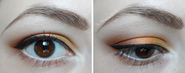fall autumn makeup tutorial