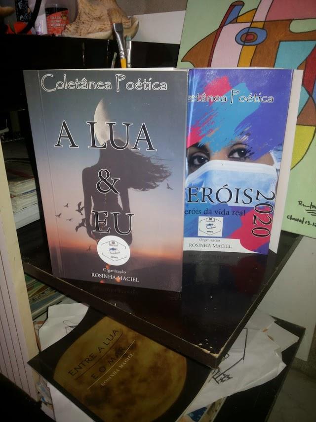 Escritores(as) chavalenses são selecionados(as) em coletâneas nacionais de literatura