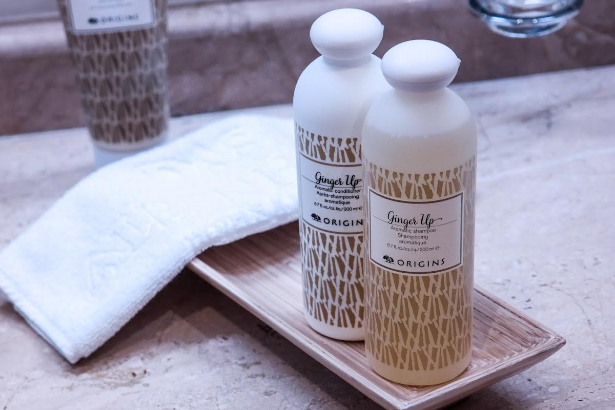 Shampoo und Balsam mit Ingwer Duft