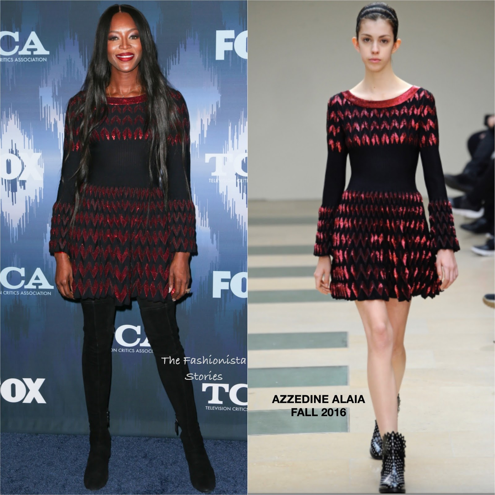 Azzedine Alaïa Fall 1991 Ready-to-Wear Fashion Show ...  Naomi Campbell Alaia Dress
