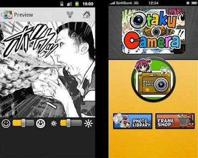 Applications Edit Photos Otaku Camera