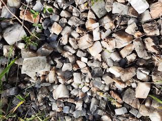 Romboedros exfoliados de calcita, Artaun